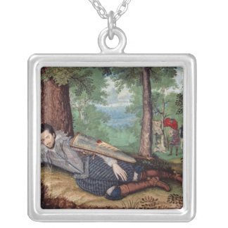Edward Herbert Silver Plated Necklace
