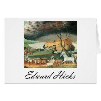 Edward Hicks Noah's Ark Card
