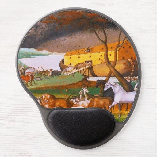 Edward Hicks Noah's Ark Gel Mouse Pad