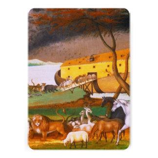 Edward Hicks Noah's Ark Invitations