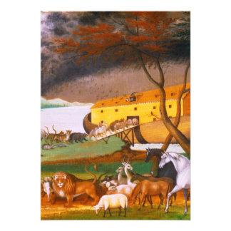 Edward Hicks Noah's Ark Announcements