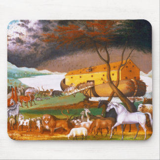 Edward Hicks Noah's Ark Mousepads