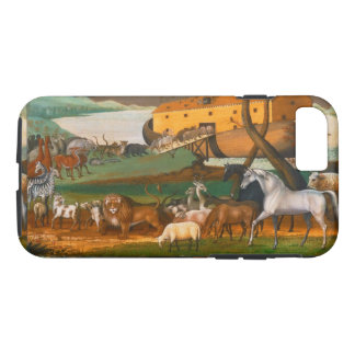Edward Hicks Noah's Ark Vintage Fine Art iPhone 7 Case