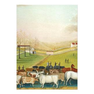 Edward Hicks - The Cornell Farm Personalized Invitations