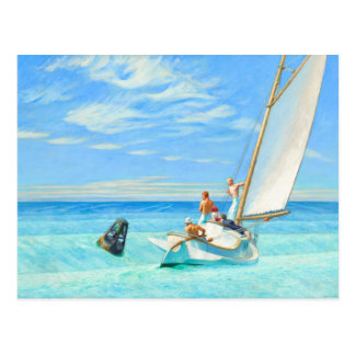 Edward Hopper Ground Swell (1939) Fine Art Postcard