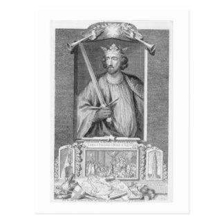 Edward I (1239-1307) King of England from 1272, af Postcard
