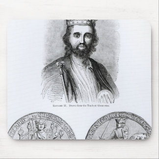 Edward II  drawn from the Tomb Mouse Mat
