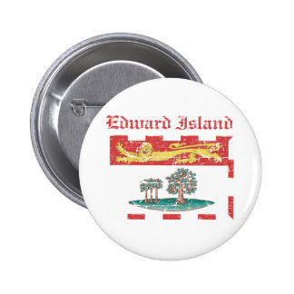 Edward_Island Canada coat of arms design Pinback Buttons