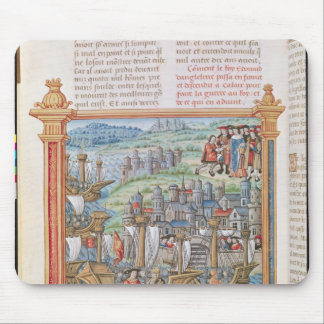 Edward IV of England landing in Calais Mouse Mat