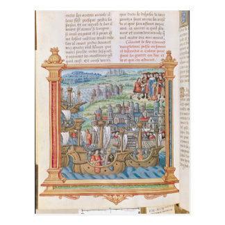 Edward IV of England landing in Calais Postcard