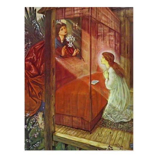 Edward Jones: The Annunciation. The Flower of God