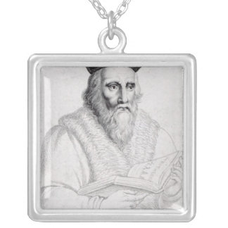 Edward Kelly, engraved by Richard Cooper Silver Plated Necklace