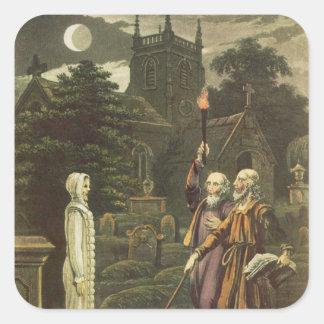Edward Kelly Square Sticker