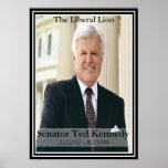 Edward Kennedy  Commemorative Poster