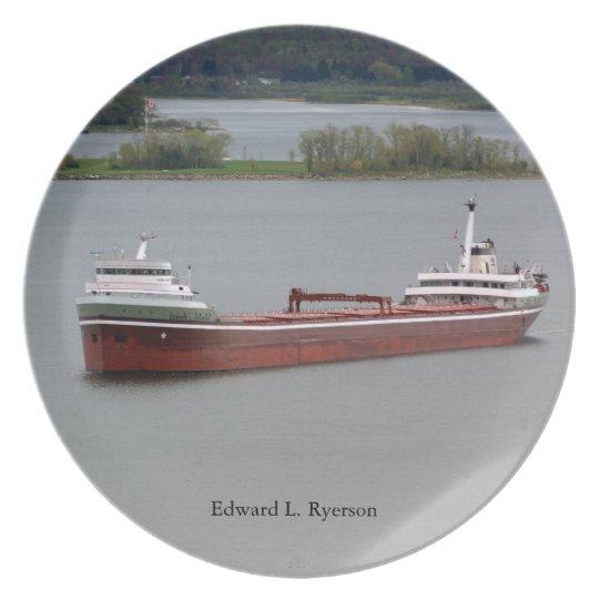 Edward L. Ryerson plate