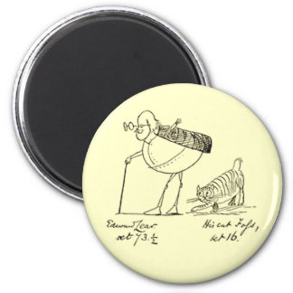 Edward Lear and Foss Magnets