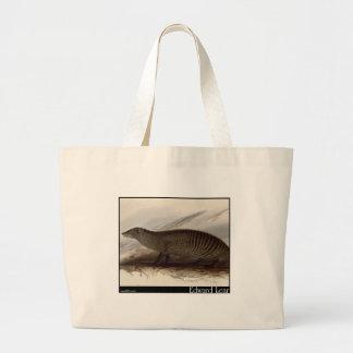 Edward Lear s Banded Mongoose Canvas Bag