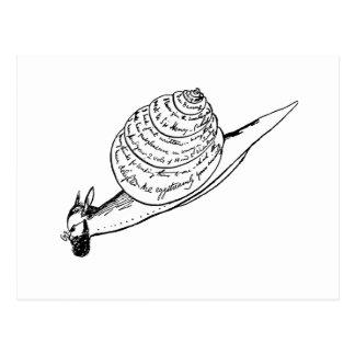 Edward Lear s Snail Mail Postcard