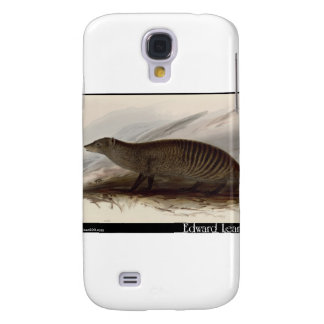 Edward Lear's Banded Mongoose Galaxy S4 Cases