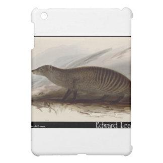 Edward Lear's Banded Mongoose iPad Mini Cases