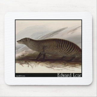 Edward Lear's Banded Mongoose Mouse Pad