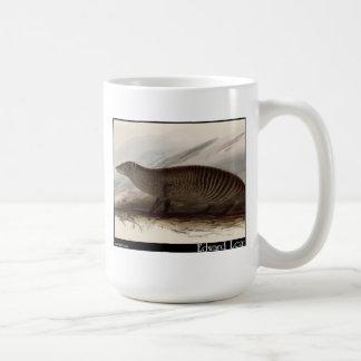 Edward Lear's Banded Mongoose Classic White Coffee Mug