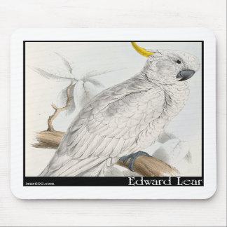 Edward Lear's Greater Sulphur-Crested Cockatoo Mousepad