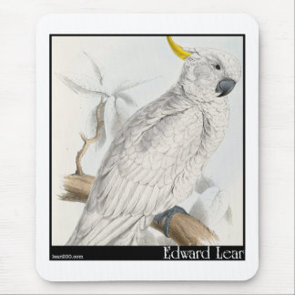 Edward Lear's Greater Sulphur-Crested Cockatoo Mouse Pad