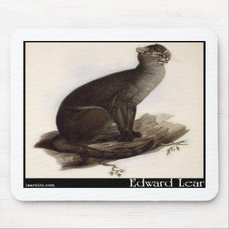 Edward Lear's Jaguarundi (Yagouarondi) Mousepads