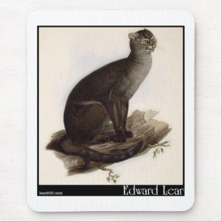 Edward Lear's Jaguarundi (Yagouarondi) Mouse Pad