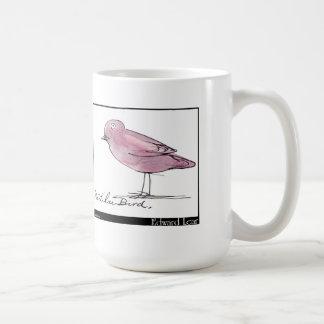 Edward Lear's Lilac Bird Coffee Mug