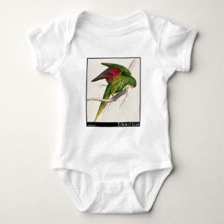 Edward Lear's Maton's Parakeet Baby Bodysuit