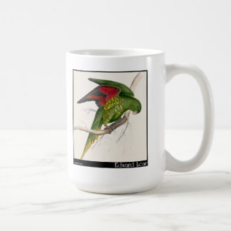 Edward Lear's Maton's Parakeet Basic White Mug