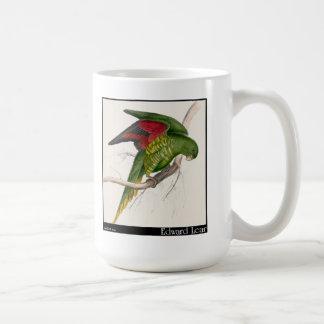 Edward Lear's Maton's Parakeet Coffee Mugs