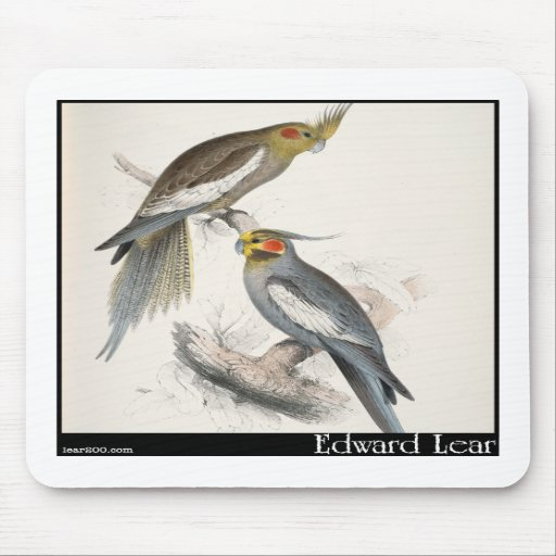 Edward Lear's New Holland Parakeet Mouse Pads