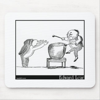 Edward Lear's Old Man with a gong Image Mouse Pad