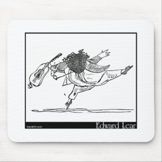 Edward Lear's Old Person of Ischia Image Mouse Pad