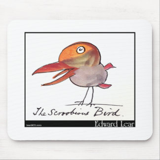 Edward Lear's Scroobious Bird Mouse Pad
