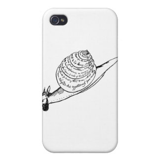 Edward Lear's Snail Mail Cases For iPhone 4