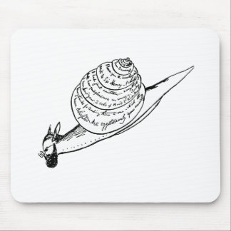 Edward Lear's Snail Mail Mouse Pad