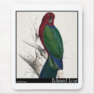 Edward Lear's Tabuan Parakeet Mouse Pad