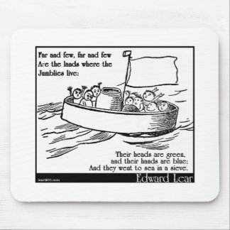 Edward Lear's The Jumblies Mouse Pad