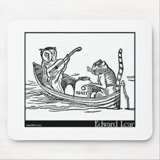 Edward Lear's The Owl and the Pussy-Cat Mouse Pad