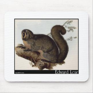 Edward Lear's Whiskered Yarke Mouse Pad