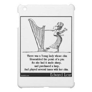 Edward Lear's Young Lady whose chin Limerick iPad Mini Cover