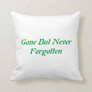Edward McGee 2012 Memorial Pillow Throw Cushions