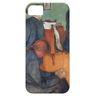 Edward Munch Art Painting Barely There iPhone 5 Case