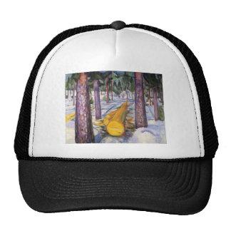 Edward Munch Art Painting Cap