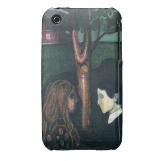 Edward Munch Art Painting iPhone 3 Case-Mate Cases