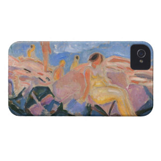 Edward Munch Art Painting iPhone 4 Cover